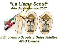 II Encuentro Nacional de Scouts Adultos