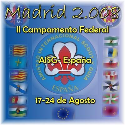 II Campamento Federal 2008