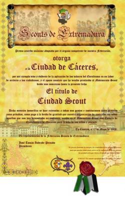 Cáceres Ciudad Scout