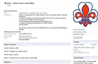 AISG - ISGF en Facebook