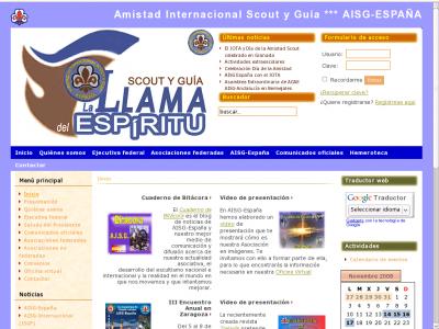 Nueva web AISG - España