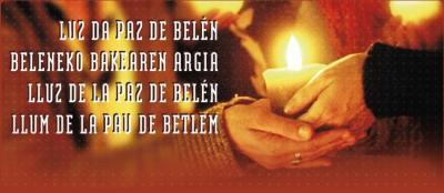 Luz de Belén en Badajoz