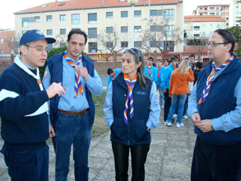 Luz de la Paz de Belén en Cáceres