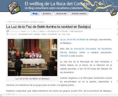 ADE Mérida  - Badajoz en La Roca del Consejo