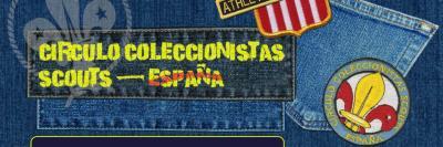 Web del Círculo de Coleccionistas Scouts - España