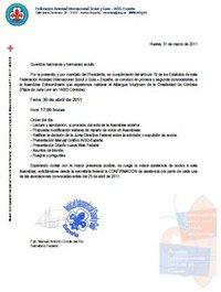 ASGAEX estara en la Asamblea Federal AISG - España